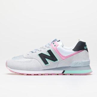 New Balance 574 Grey/ Pink