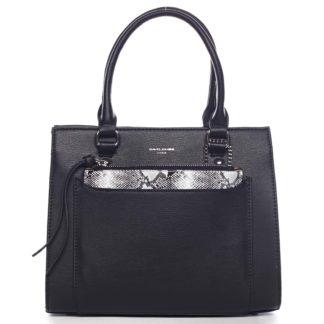 Exkluzivní dámská kabelka černá - David Jones Joan černá