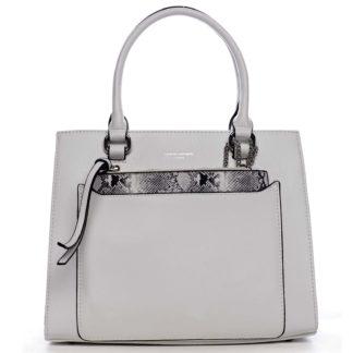 Exkluzivní dámská kabelka bílá - David Jones Joan bílá
