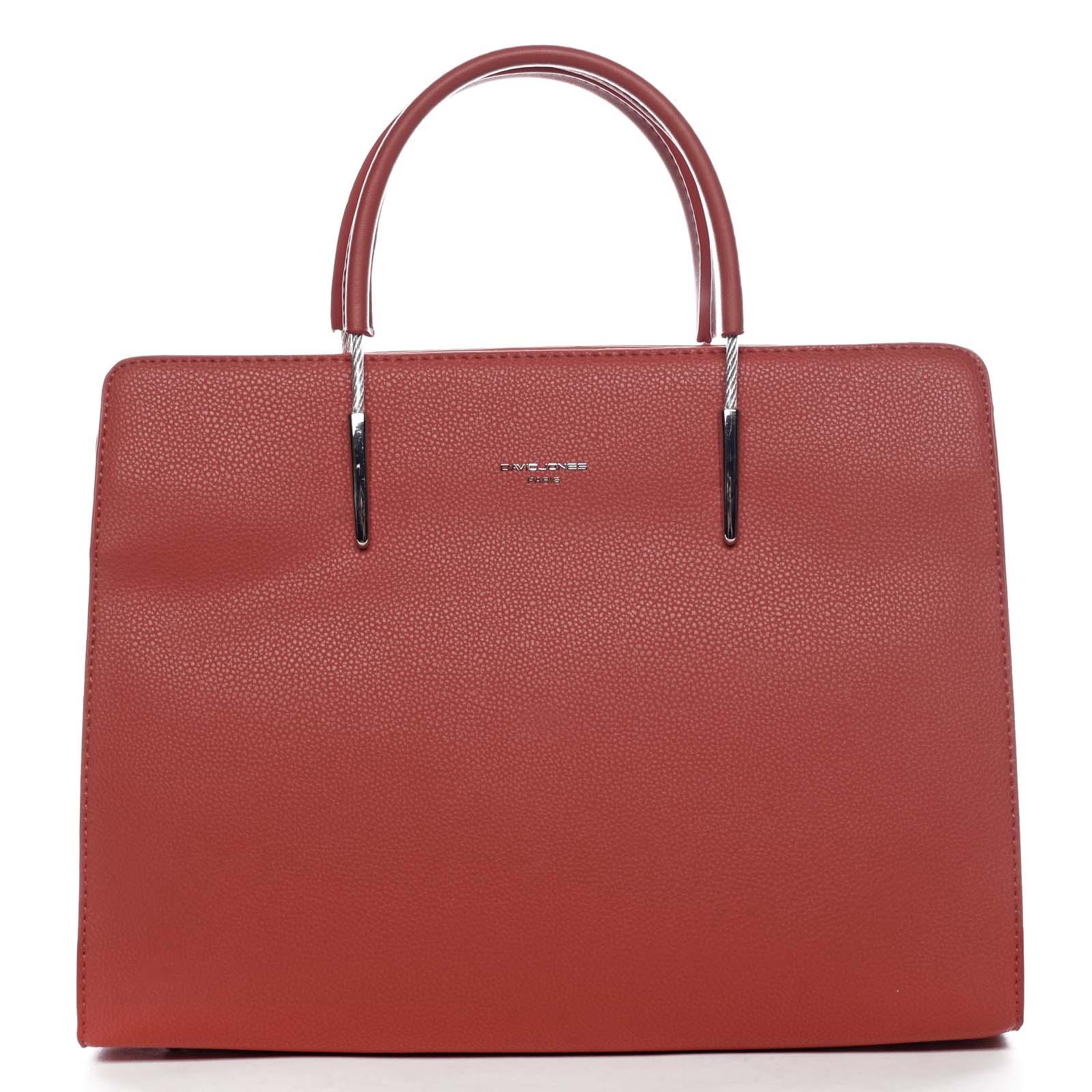 Dámská kabelka do ruky červená - David Jones Miracle červená