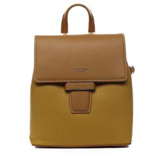 Dámský městský batůžek kabelka žlutý - David Jones Kancy žlutá