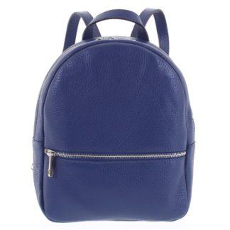 Dámský kožený batůžek tmavě modrý - ItalY Mouseph tmavě modrá