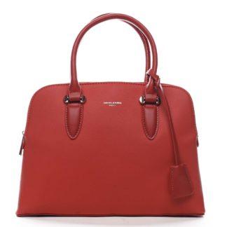 Dámská kabelka do ruky červená - David Jones Nemoris červená