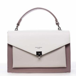 Dámská kabelka do ruky fialová - David Jones Holeruge fialová