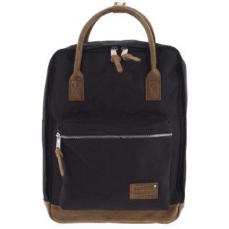 Pánský stylový batoh černý - Enrico Benetti Lefl černá