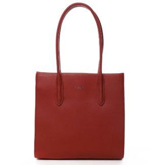 Dámská kabelka přes rameno červená - David Jones Sementis červená