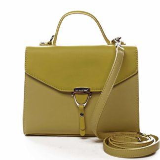 Dámská kabelka do ruky žlutá - David Jones California žlutá