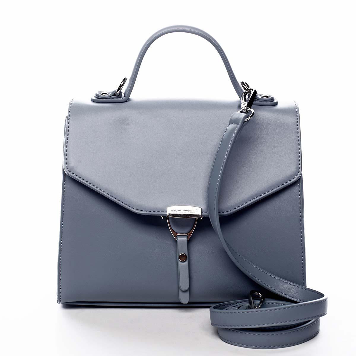 Dámská kabelka do ruky světle modrá - David Jones California modrá