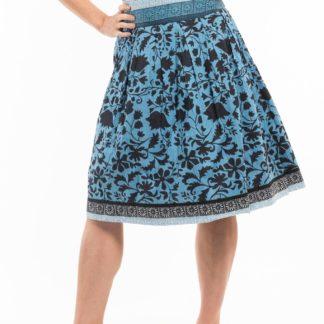 Orientique modrá oboustranná sukně Crete