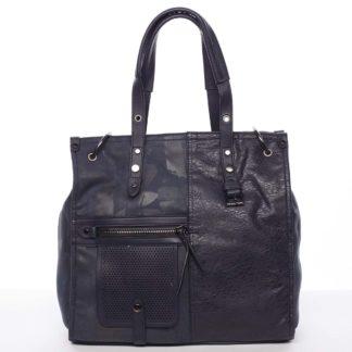 Nadčasová dámská kabelka do ruky modrá - MARIA C Jemma modrá
