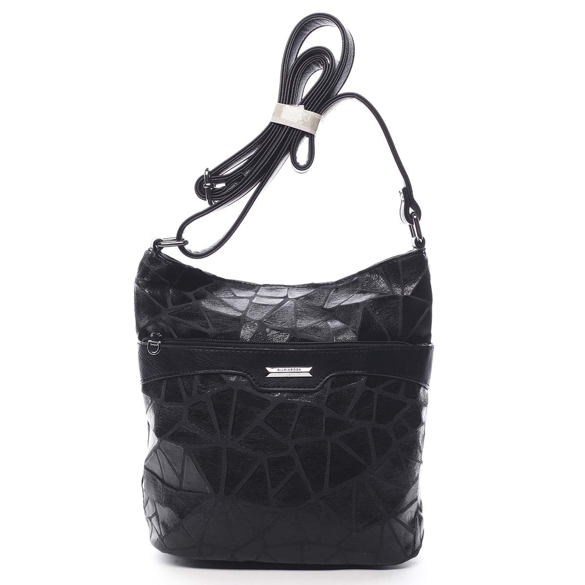Dámská atraktivní crossbody kabelka černá - Silvia Rosa Tanitha Cool černá