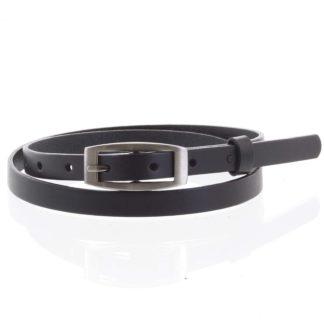 Dámský kožený opasek černý - PB Ezem 100 černá
