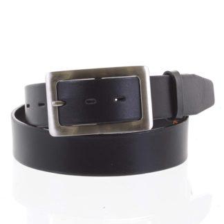 Dámský kožený opasek černý - PB Nisan 90 černá