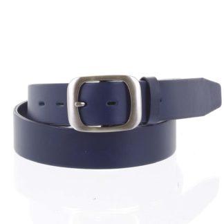 Dámský kožený opasek modrý - PB Sinim 100 modrá