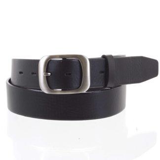 Dámský kožený opasek černý - PB Sinim 100 černá