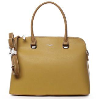 Dámská kabelka žlutá - David Jones California žlutá