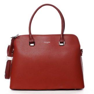 Dámská kabelka červená - David Jones California červená