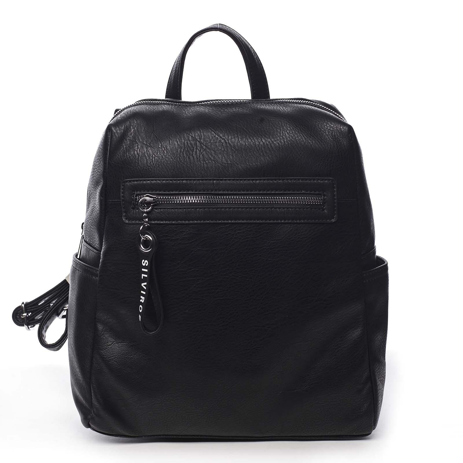 Dámský batoh černý - Silvia Rosa Lesgo černá