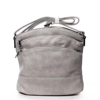 Dámská crossbody kabelka světle šedá - Romina Eufanity šedá