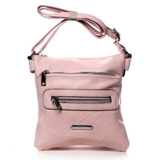 Dámská crossbody kabelka růžová - Romina Chasing růžová