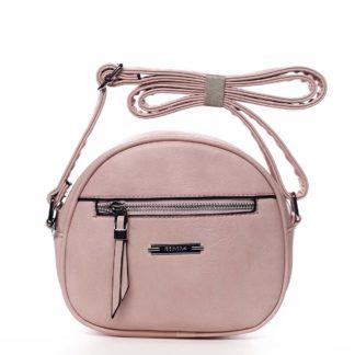 Dámská crossbody kabelka růžová - Romina Eilish růžová