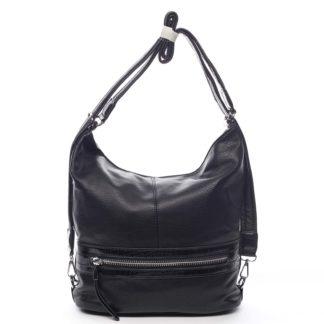 Dámská kabelka batoh černá - Romina Lazy černá
