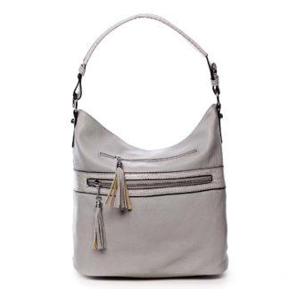 Dámská kabelka přes rameno světle šedá - Romina Becca šedá