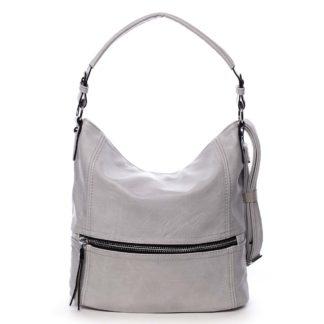 Dámská kabelka přes rameno světle šedá - Romina Fetall šedá