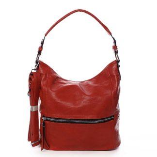 Dámská kabelka přes rameno červená - Romina Fetall červená
