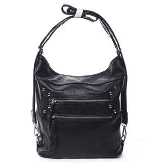 Dámská kabelka batoh černá - Romina Alfa černá