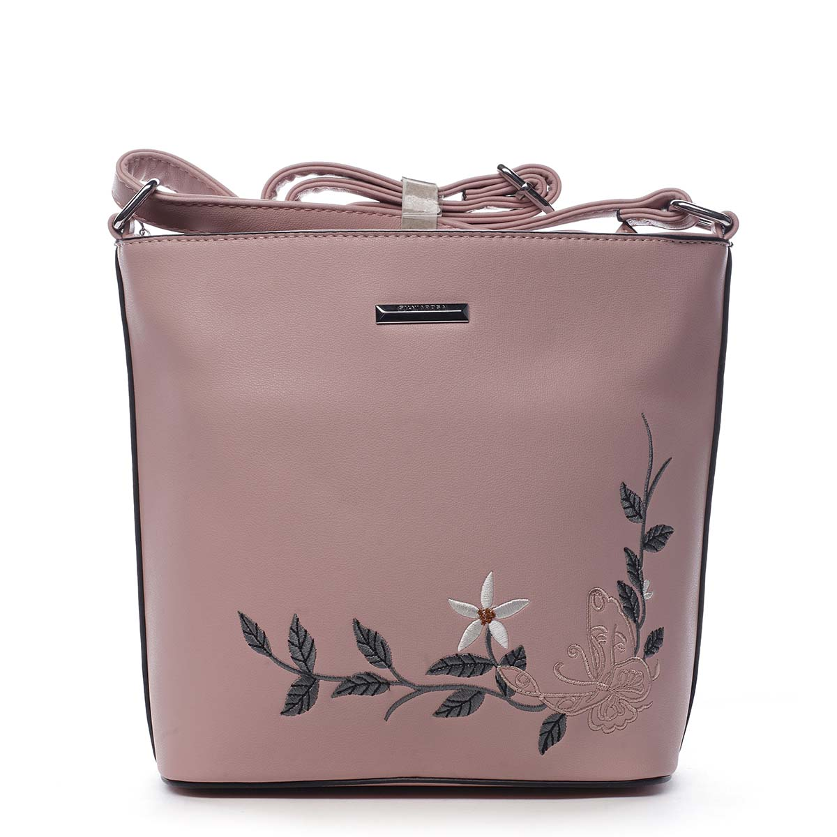 Dámská crossbody kabelka růžová - Silvia Rosa Believa růžová