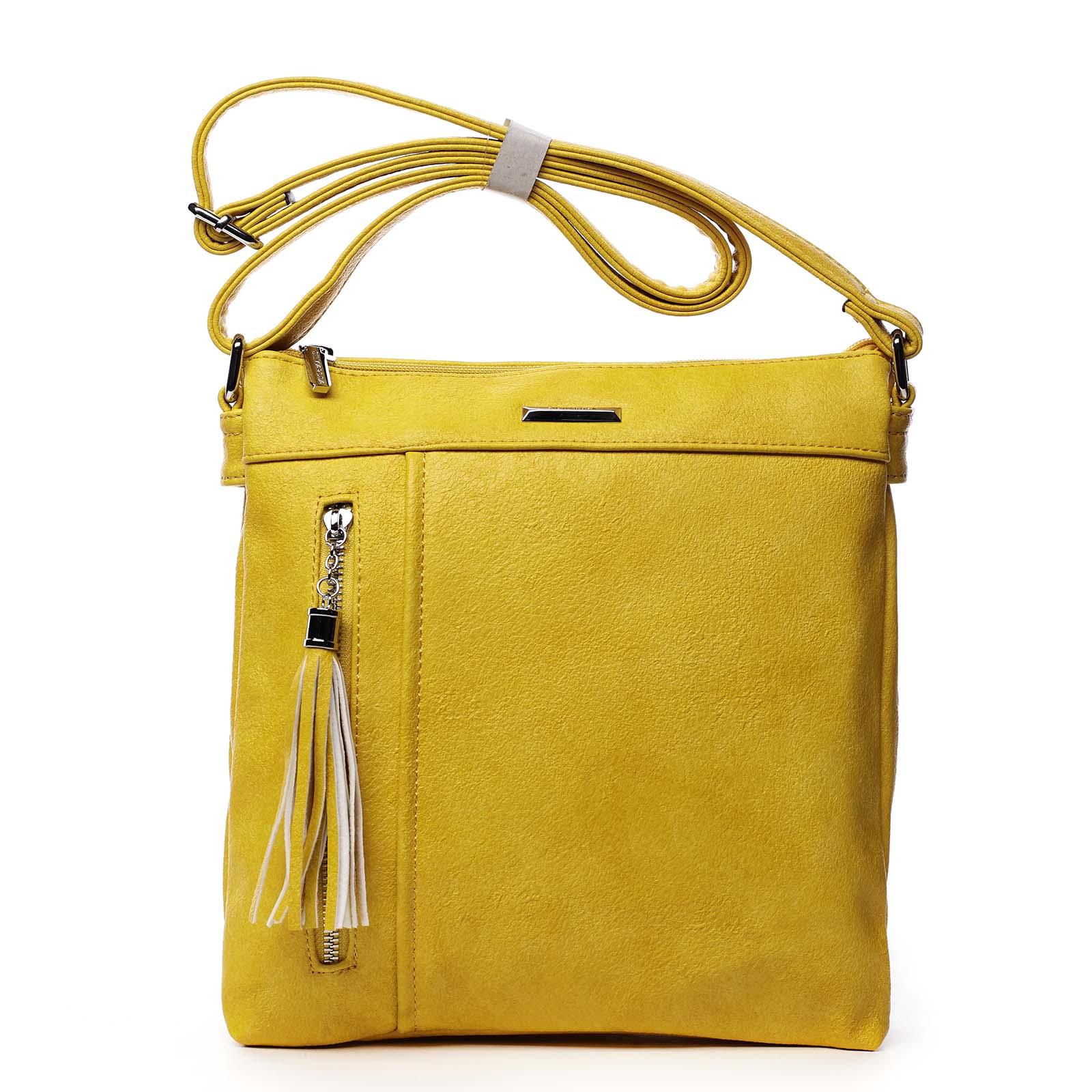 Dámská crossbody kabelky žlutá - Silvia Rosa Isitha žlutá