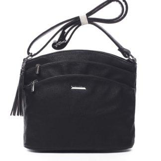 Dámská crossbody kabelka černá - Silvia Rosa Ubuhle černá