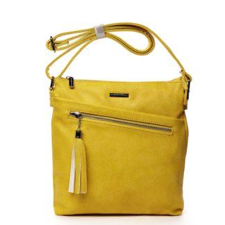 Dámská crossbody kabelky žlutá - Silvia Rosa Isibambo žlutá
