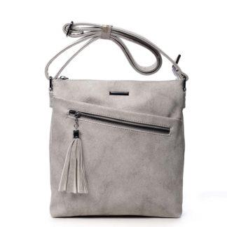 Dámská crossbody kabelky světle šedá - Silvia Rosa Isibambo šedá