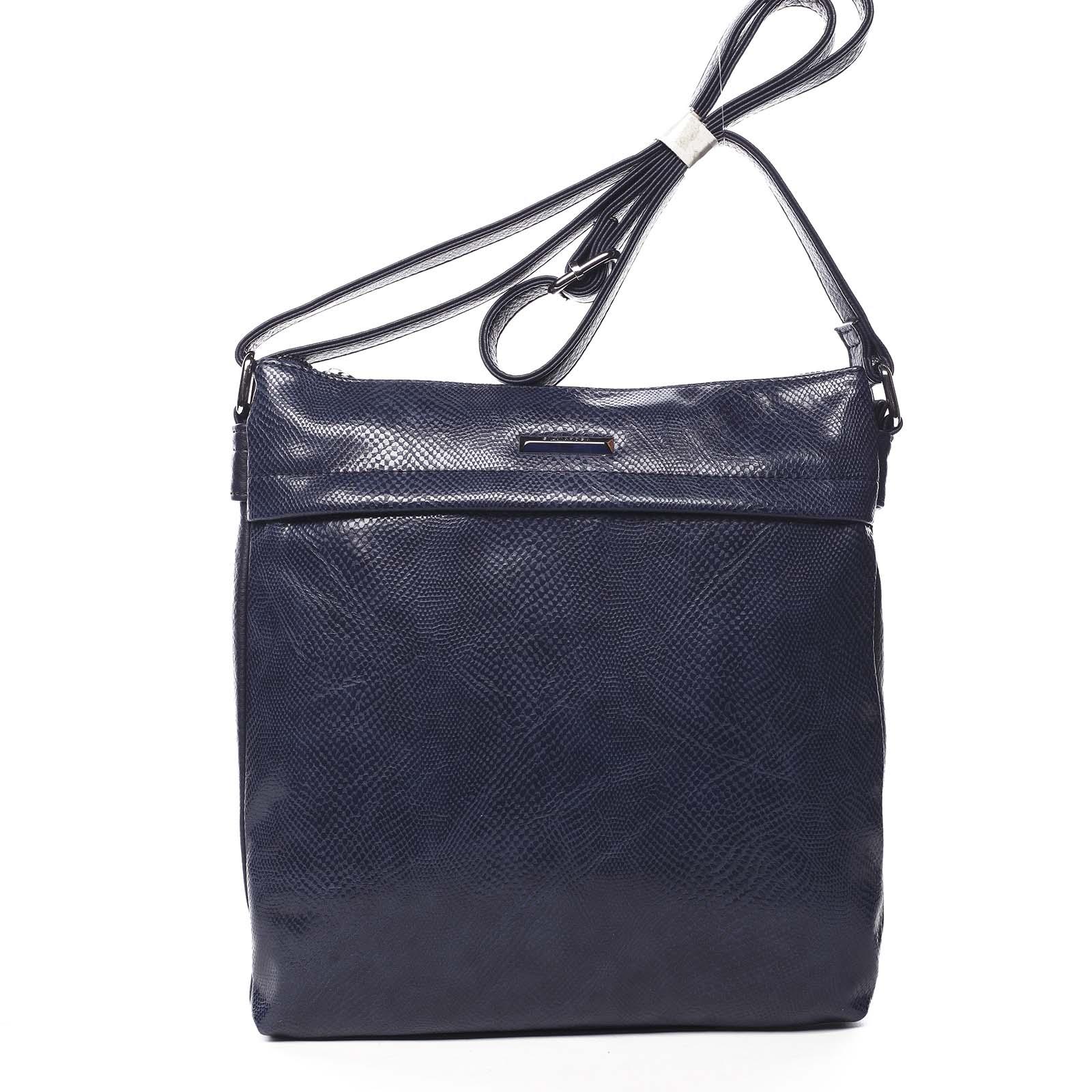 Dámská crossbody kabelky tmavě modrá - Silvia Rosa Dingeka Snake tmavě modrá