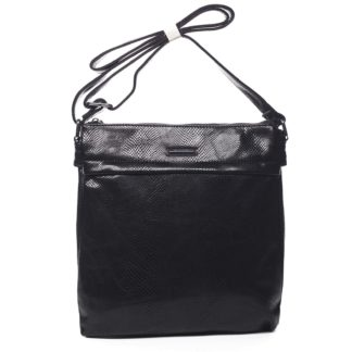 Dámská crossbody kabelky černá - Silvia Rosa Dingeka Snake černá