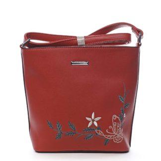 Dámská crossbody kabelka červená - Silvia Rosa Believa červená