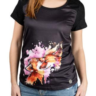 Culito from Spain černé tričko Laura Pausini