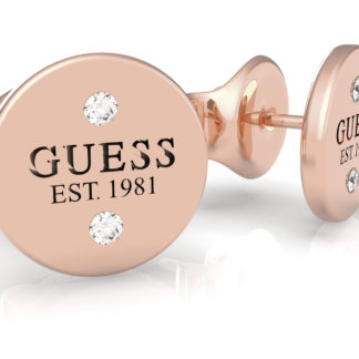 Guess rose gold náušnice Guess L.A.