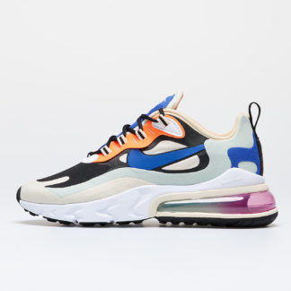 Nike W Air Max 270 React Fossil/ Hyper Blue-Black-Pistachio Frost