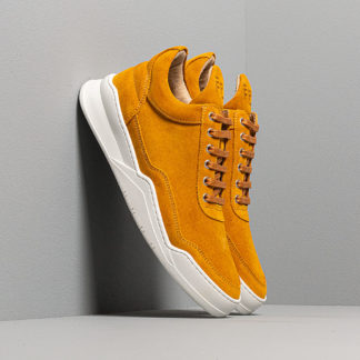 Filling Pieces Low Top Ghost Suede Mustard