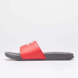 Nike Benassi Jdi Iron Grey/ White-Track Red