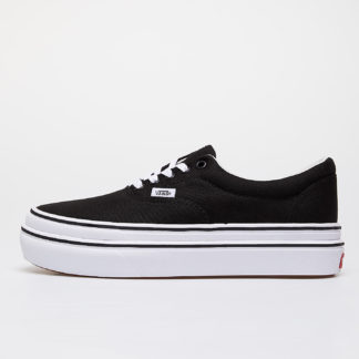 Vans Super Comfycush Era (Canvas) Black/ True White