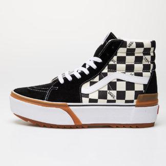 Vans Sk8-Hi Stacked (Checkerboard) Checkerboard/ True White