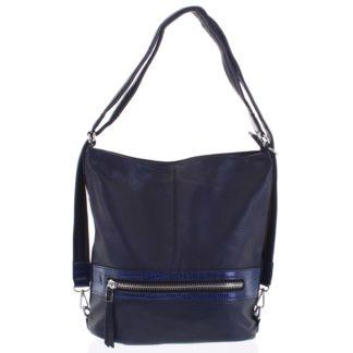 Dámská kabelka batoh tmavě modrá - Romina Lazy tmavě modrá