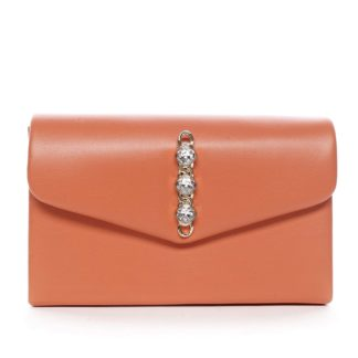 Dámské psaníčko oranžové - Michelle Moon Idaymane oranžová