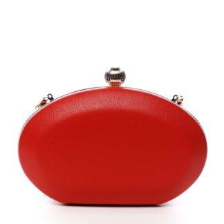 Dámské psaníčko červené - Delami LK4600 červená
