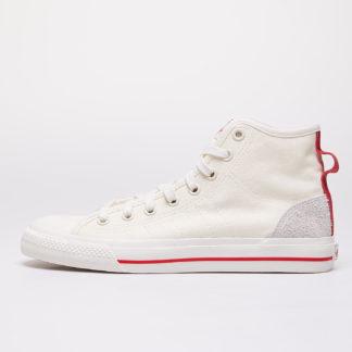 adidas Nizza Hi Rf Off White/ Glow Red/ Gum44