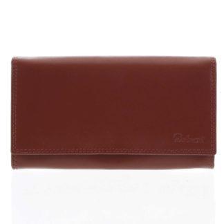 Dámská kožená peněženka červená - Delami Wandy červená